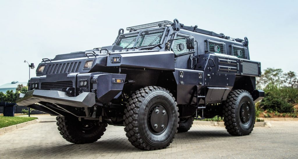 What are the different kinds of armored cars